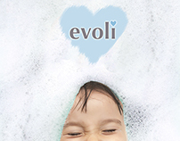 Unused  advertising poster for Evoli