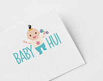 Logo Design Baby Hui