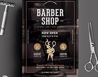 Vintage Barber Shop Flyer