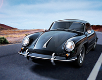 Cinema 4D Porche 356B