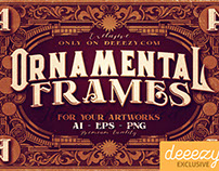 4 FREE Ornamental Frames