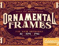 4 FREE Ornamental Frames