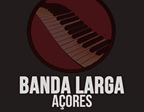 """Banda Larga Açores"" Band Logo"