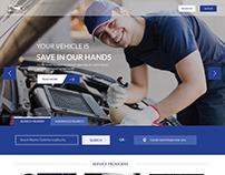 Car Services web page