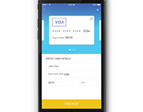 DailyUI #002: Credit Card Checkout