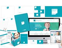 Brand Identity per lo studio dentistico Morrone & Savi