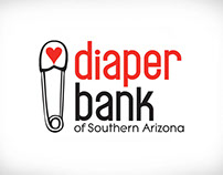 Diaper Bank of Southern Arizona Branding