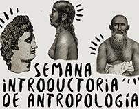 Afiche Semana Introductoria de Antropología PUCP