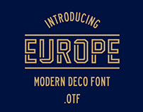 EUROPE FONT .otf