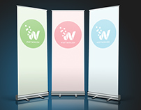 Expo - Roll up banners, labels