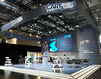 Booth Design - Carttec at Euroshop 2020