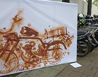 Rust Art tetanus campaign