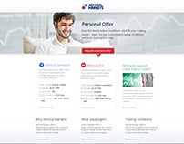 Admiral Markets Landing Page