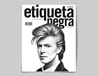 TODOS LOS BOWIES Portada Etiqueta Negra E131
