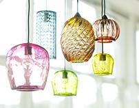 Free Glass lamps 3d model
