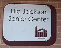 Senior Center Signage