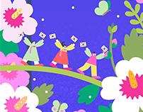 SNAPCHAT The National Liberation Day of Korea 2020