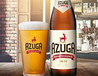 Azuga - Key Visual and Landing page