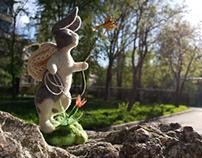 """Bunny the Dreamer"" Felttoy"