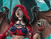 Dark Red Riding