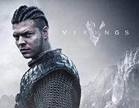 Vikings characters - photo compositing