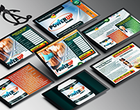PowerUp Landing Page & Processing Pages