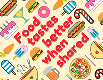 Food Tastes Better When Shared