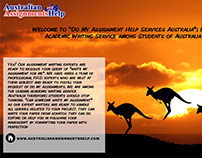 Sometime We Need Assignment Help in AUstralia