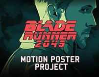 Blade Runner 2049 MOTION POSTER