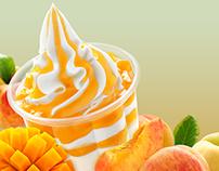 Mc D Sundae Peach mango
