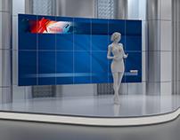 Design television studio ZVEZDA