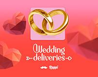 Rappi Wedding deliveries