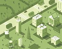 Green Living - Cover for Soho House