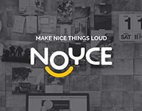 NOYCE [logo, branding, identity]
