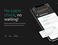 Paycheck - Mobile app