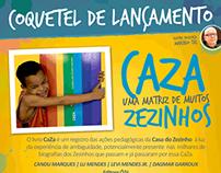Lançamento Livro CaZa - ONG Casa do Zezinho