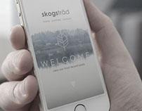 SKOGSTRAD web design