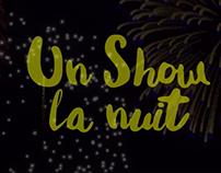Un show la nuit - Chansons Cinéma québécois