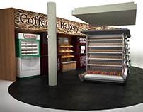 3D Visualisation of New POS display @ Road Chef Norton