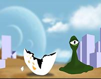Animação teste frame by frame