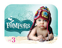 Pampers Conceptual Packaging - Tiering Strategy