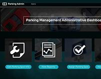 Admin Dashboard - Parking Management