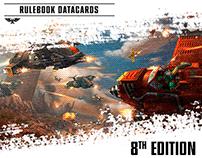 Rulebook Datacards | Warhammer 40,000 | SPANISH