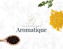 Aromatique - Visual identity