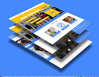 My Service Website Design