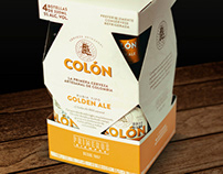 Packaging Cerveza Colón
