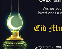 Eid Greetings 22ft Long Banner for Office