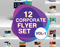 12 Corporate Flyer Set