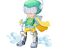 Zagi Superhero - ConceptArt