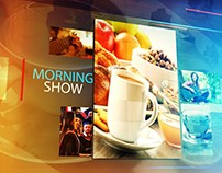 Vizrt Kurdsat News Morning Show Graphics.
